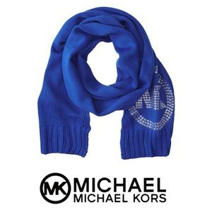 New Without Tags Michael Kors Blue Scarf